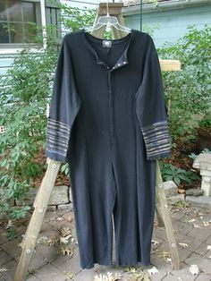 2000 Silly Suit Stripes Black Oversized 1 - BlueFishFinder