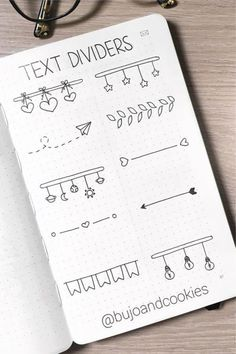 Best Bullet Journal Divider Ideas For 2020 - Crazy Laura - - Need to break up the different sections of your weekly spreads and need some ideas? Check out these awesome bullet journal dividers for inspiration! Bullet Journal School, Bullet Journal Inspo, Bullet Journal Dividers, Bullet Journal Writing, Bullet Journal Headers, Bullet Journal Banner, Bullet Journal Aesthetic, Bullet Journal Ideas Pages, Bullet Journal Spread