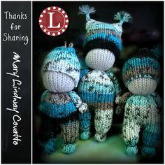 Loom Knit Dolls