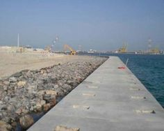 Shams Abu Dhabi Project, Construction of the Marina and Sea Wall – Adgeco Group UAE