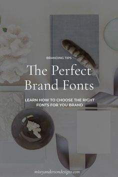 How to choose the perfect brand fonts