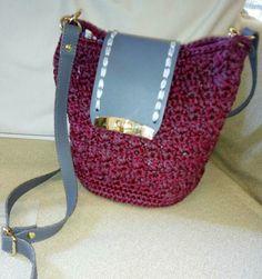 Crochet woman's bag💖