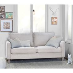 elle decor porter track arm sofa from