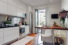 SMALL+STYLISH IN EUROPE: Scandinavian Apartment. 4/4/2012 via @Freshome