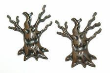 SPOOKY HALLOWEEN TREE STUD EARRINGS (H289)
