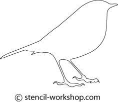 Bird Stencil - 4