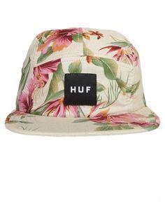 Huf - Hawaiian Volley Snapback Cap - $36