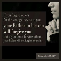 Need to start forgiving people that have done me wrong!!