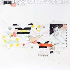 #papercraft #scrapbook #layout. Love You Everyday by jc.chris at @studio_calico