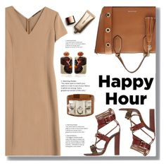 """Happy Hour"" by drigomes ❤ liked on Polyvore featuring Agnona, Etro, MICHAEL Michael Kors, Hermès, Silvia Furmanovich and Nude by Nature"