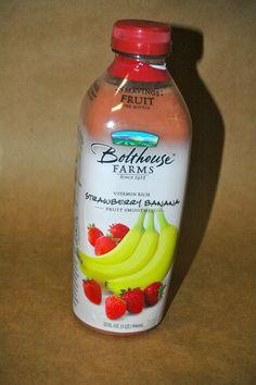 Bolthouse Farms fruit drinks. Yum
