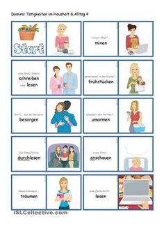 Tätigkeiten im Haushalt & Alltag 4 _ Domino