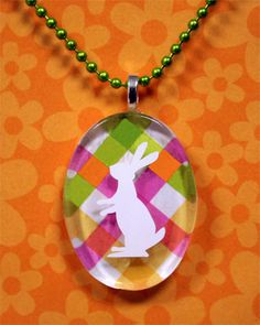 Our Easter Bunny pendant