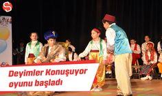Deyimler Konuşuyor oyun sahnelenmeye başladı #deyimlerkonuşuyor #tiyatro #malatya