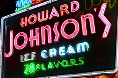 Photo Of The Day: Howard Johnson Neon Signage | Gadling.com