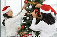 How to Avoid Being the Office Grinch - decorate