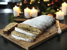 Christmas Stollen German Bread, Pink Food Coloring, Pink Foods, Mince Pies, Home Baking, Food Festival, Melted Butter, Great Recipes, Recipe Ideas
