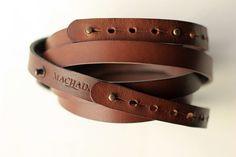Machado Handmade+Noussnouss Belts. Yesss.