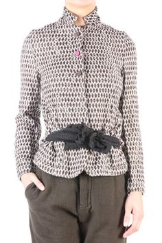 wool and silk lozenge pattern jacket - DANIELA GREGIS