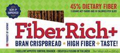 High Fiber Bran Crispbread » Fiber Rich Plus