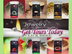 Order your Jewelry in Candles today! http://kaybrasher.com/splash/JewleryInCandles.html
