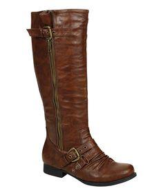 Cognac Finly Boot