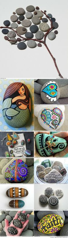 the Best Painted Rock Art Ideas, You Can Do. #PebbleArt #RockArt #PebbleArtIdeas #ArtDiy