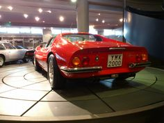 Hellenic motor museum, a Ferrari saved from becoming scrap.