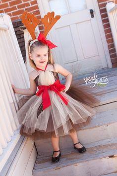Reno Vestido de ChristmasTutu Reno tutú por AllDressedUpCouture