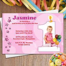 Light Pink Stars Bubble Personalised Girls First Birthday Party Invite Bday Party Invitation of Adorable Birthday Party Invitation Template Ideas For Boys ...