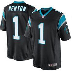 ae7ce0581 Cam Newton Carolina Panthers Nike Limited Jersey - Black Cam Newton Panthers