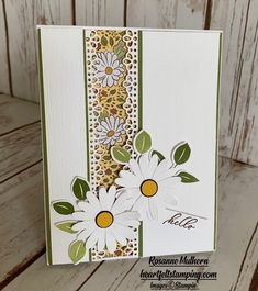 Saying Hello to Ornate Garden - Heartfelt Stamping Handmade Thank You Cards, Handmade Birthday Cards, Stampin Up Karten, Stampin Up Catalog, The Draw, Stamping Up Cards, Card Sketches, Sympathy Cards, Thing 1