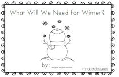 After the break my kids will be working on many Winter/Arctic themed activities. I created this emergent reader for the students to practi. Preschool Christmas, Kids Christmas, Preschool Winter, Preschool Rules, Preschool Ideas, Christmas Stuff, Winter Fun, Winter Theme, Winter Ideas
