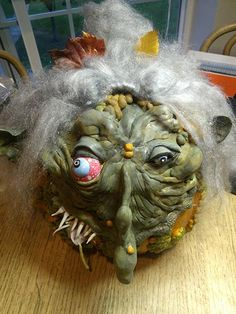 """Warty Witch"" pumpkin by Molly W., Bothell, WA"