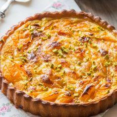 Apricot & Pistachio Pie with Fresh Cream - Pâtisserie - Torten İdeen