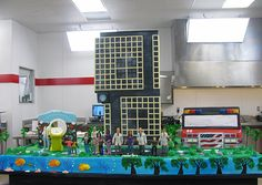 Cake BOSS.  Children's Hospital Cake How was the cake made? The base ...