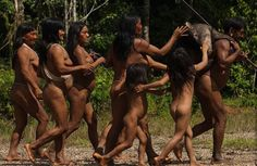 ekvádorského kmene Huaorani
