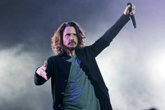 Soundgarden at The Fox Theatre in Detroit on 5-17-17. Love and miss you, CC. Photo credit: Ken Settle