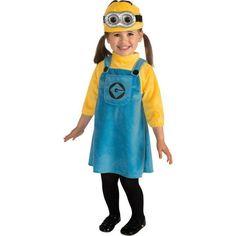 Disfraz de Minion con vestido para bebé