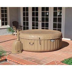 intex hot tub on pinterest hot tubs portable spa and. Black Bedroom Furniture Sets. Home Design Ideas