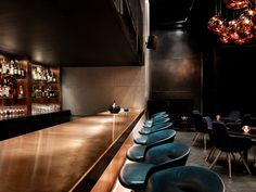 Tom Dixon's cocktail den design explores texture, distortion and reflection - News - Frameweb