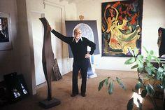 Roger Darricarrere, glass artist and sculptor - http://www.davidruth.com/roger.html