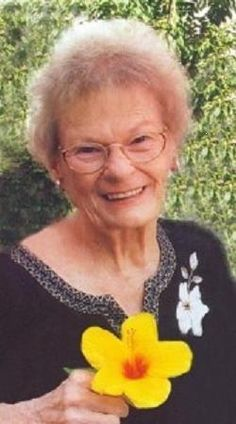 """Here is a photo of my Mom, Shirley Mae, who passed away January 10, 2012. She was the mother of 4 children (4 daughters, 1 son), and Grandmother to 8. Great Grandmother to 4. Mom was so active in all of our lives, and we miss her terribly. She was 81 years young at the time of death. "" ~Sharon"