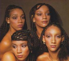 """Sister Sledge, """"We Are Family"""" album 1979 Sister Sledge, Divas, Vintage Black Glamour, Old School Music, I Love Music, Cinema, Vogue, Soul Music, Music Music"""