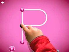 Kinder-app: om te leren schrijven. Met de altijd leuke Dirk Scheele :-)  ▶ LetterSchool NL - leren schrijven is cool! - YouTube