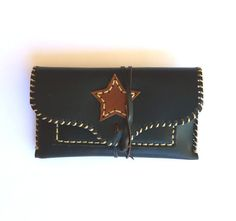 LEATHER TOBACCO POUCH / Leather pouch star by Lanhe on Etsy