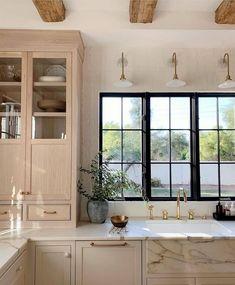 Kitchen Interior, New Kitchen, Kitchen Decor, Kitchen Ideas, Minimal Kitchen, Decorating Kitchen, Kitchen Small, Kitchen Trends, Updated Kitchen