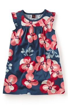 Tea Collection 'Floreale Futuristico' Dress (Toddler Girls, Little Girls &…