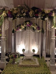 Pin by mawarprada wedding decoration on international wedding dekorasi siraman putih junglespirit Images