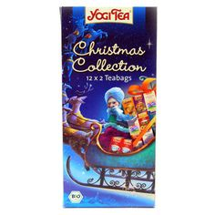 """""""Christmas Collection"""" of teabags by @YogiTea_ @YogiTeaEurope"""